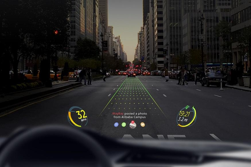 Alibaba puts $18 million into augmented reality car nav startup WayRay 3rockar