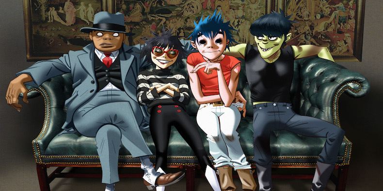 Gorillaz release second Augmented Reality app - 3rockAR Blog