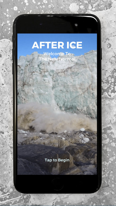 Augmented reality app After Ice shows what climate change can do