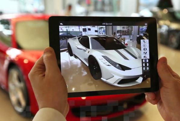 Augmented Reality Is Disrupting Car Retail 3rockAR