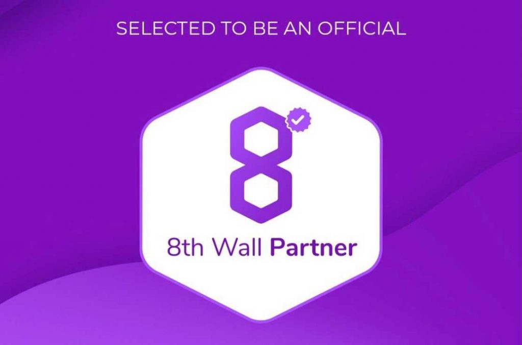 Selected to be an official 8th Wall partner